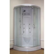 Полукруглая душевая кабина Ammari (Аммари) AM-082G 90*90 см для ванной комнаты