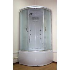 Полукруглая душевая кабина Ammari (Аммари) AM-083G 90*90 см для ванной комнаты
