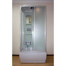 Прямоугольная душевая кабина Ammari (Аммари) AM-100 100*80 см для ванной комнаты