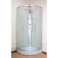 Полукруглая душевая кабина Ammari (Аммари) AM-135 80*80 см Matte для ванной комнаты