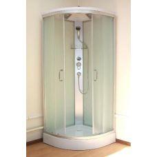 Полукруглая душевая кабина Ammari (Аммари) AM-136 80*80 см Matte для ванной комнаты