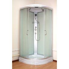 Полукруглая душевая кабина Ammari (Аммари) AM-136 90*90 см Matte для ванной комнаты