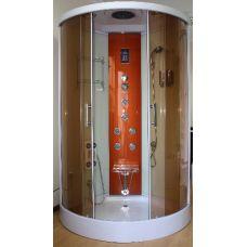Полукруглая душевая кабина Ammari (Аммари) AM-060B New 105*105 см для ванной комнаты