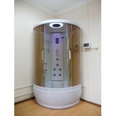 Полукруглая душевая кабина Ammari (Аммари) AM-061 New 105*105 см для ванной комнаты