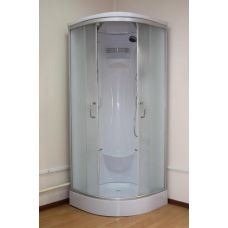 Купить полукруглую душевую кабину Ammari (Аммари) AM-082 80*80 см для ванной комнаты в интернет-магазине сантехники RoyalSan.ru