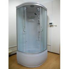 Полукруглая душевая кабина Ammari (Аммари) AM-083 80*80 см для ванной комнаты