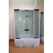 Прямоугольная душевая кабина Ammari (Аммари) AM-100 White 90*150 см для ванной комнаты