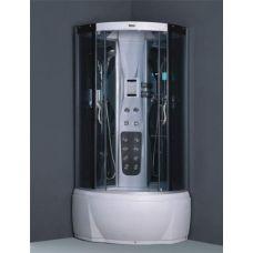 Полукруглая душевая кабина Ammari (Аммари) AM-117 White 90*90 см для ванной комнаты