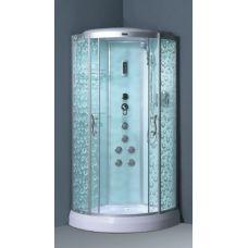 Полукруглая душевая кабина Ammari (Аммари) AM-131 90*90 см для ванной комнаты