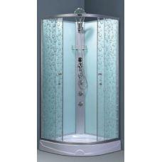 Полукруглая душевая кабина Ammari (Аммари) AM-135 90*90 см для ванной комнаты