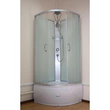 Полукруглая душевая кабина Ammari (Аммари) AM-138 80*80 см для ванной комнаты