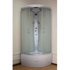 Полукруглая душевая кабина Ammari (Аммари) AM-139 80*80 см для ванной комнаты