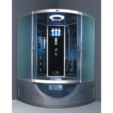 Полукруглая душевая кабина Ammari (Аммари) AM-800A 150*150 см для ванной комнаты