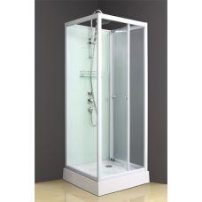 Прямоугольная душевая кабина Ammari (Аммари) AM-084 80*80 см для ванной комнаты