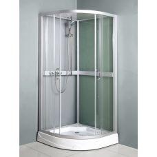 Полукруглая душевая кабина Ammari (Аммари) AM-085 80*80 см для ванной комнаты