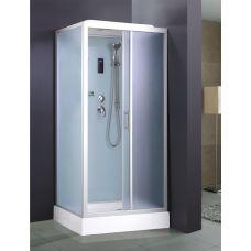 Прямоугольная душевая кабина Ammari (Аммари) AM-100 Low 100*80 см для ванной комнаты