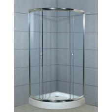 Полукруглая душевая кабина Ammari (Аммари) AM-025 80*80 см для ванной комнаты