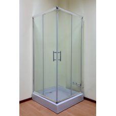 Полукруглая душевая кабина Ammari (Аммари) AM-14-90 90*90 см для ванной комнаты