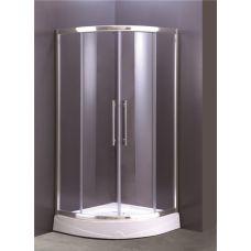 Полукруглая душевая кабина Ammari (Аммари) AM-36-90 90*90 см для ванной комнаты