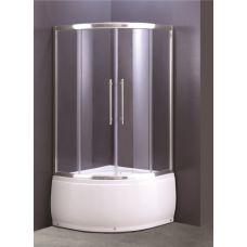 Полукруглая душевая кабина Ammari (Аммари) AM-37-100 100*100 см для ванной комнаты