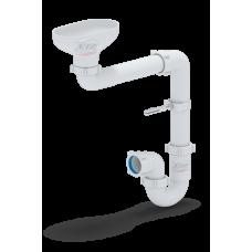 Сифон Анипласт DR5000 с разрывом струи/потока для раковины-умывальника