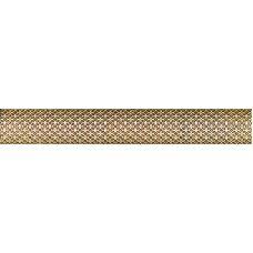 Бордюр Aparici (Апаричи) Enigma Symbol Gold Moldura 3*20 см для ванной комнаты, кухни, прихожей, квартиры и дома