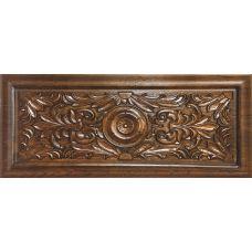 Испанский настенный декор Aparici (Апаричи) Spinner Carving Nogal Ornato 31,6*75,6 см для ванной комнаты, кухни, прихожей, квартиры и дома