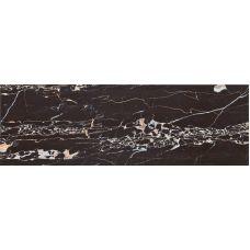 Испанская настенная керамическая плитка Aparici (Апаричи) Statuario Negro 25,1*75,6 см для ванной комнаты, кухни, прихожей, квартиры и дома