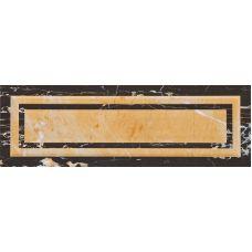 Испанская настенная керамическая плитка Aparici (Апаричи) Statuario Negro Ornato 25,1*75,6 см для ванной комнаты, кухни, прихожей, квартиры и дома