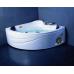 Угловая акриловая ванна Appollo (Апполло) SU-1515 150*150 см с гидромассажем для ванной комнаты