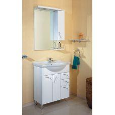 Мебель Aqwella (Аквелла) Алина 75 см для ванной комнаты