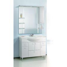 Мебель Aqwella (Аквелла) Барселона Люкс 105 для ванной комнаты