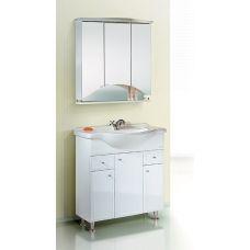 Мебель Aqwella (Аквелла) Барселона Люкс 85 для ванной комнаты