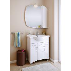 Мебель Aqwella (Аквелла) Бельведер 75 см для ванной комнаты