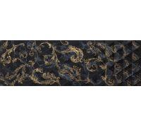 Декор Atlantic Diamante Decor Negro Gold 29.5*90