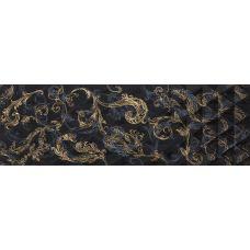 Декор Atlantic Diamante Decor Negro Gold 29.5*90 см для ванной комнаты, кухни, прихожей, квартиры и дома