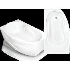 Асимметричная акриловая ванна Bach Стар 169*100 см для ванной комнаты