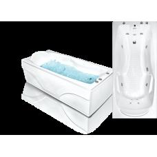 Прямоугольная акриловая ванна Bach Исланд 180*80 см для ванной комнаты