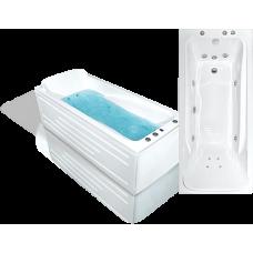 Прямоугольная акриловая ванна Bach Марианна 170*77 см для ванной комнаты