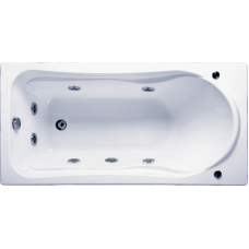 Прямоугольная акриловая ванна Bas (Бас) Бриз (Briz) 150*75 см для ванной комнаты