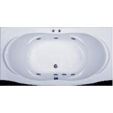 Прямоугольная акриловая ванна Bas (Бас) Фиеста (Fiesta) 194*90 см для ванной комнаты