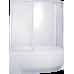 Асимметричная акриловая ванна Bas (Бас) Флорида (Florida) 160*88 для ванной комнаты