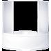 Угловая акриловая ванна Bas (Бас) Империал (Imperial) 150*150 см для ванной комнаты