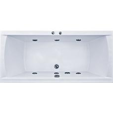 Прямоугольная акриловая ванна Bas (Бас) Индика (Indika) 170*80 см для ванной комнаты