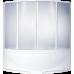 Угловая акриловая ванна Bas (Бас) Ирис (Iris) 150*150 см для ванной комнаты