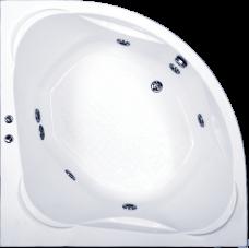 Угловая акриловая ванна Bas (Бас) Риола (Riola) 135*135 см для ванной комнаты