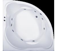 Акриловая ванна Bas Ривьера 161*161