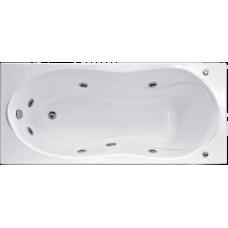 Прямоугольная акриловая ванна Bas (Бас) Ямайка (Jamaica) 180*80 см для ванной комнаты