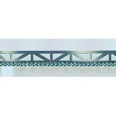 Профиль Butech (Бутеч) Pro-Mate 5 Cromado Swarovski 11x5x2500 мм для плитки