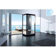 Прямоугольная душевая кабина CRW (ЦРВ) AA0003 120*90 см с парогенератором для ванной комнаты